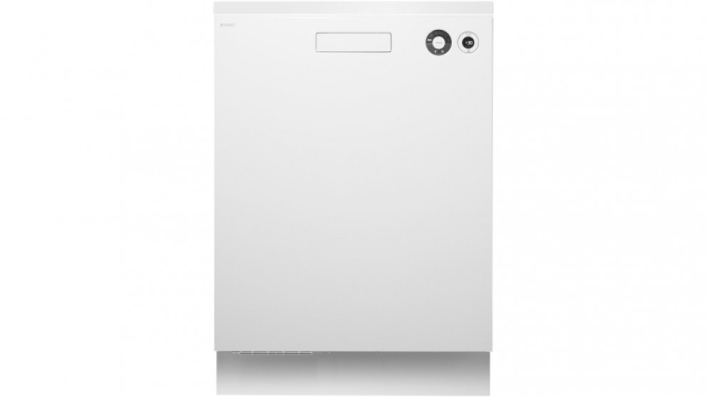 Asko 82cm Built-In Dishwasher - White