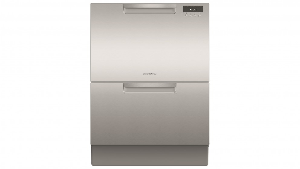 Fisher & Paykel DD60DAX9 60cm Double DishDrawer Dishwasher - Stainless Steel
