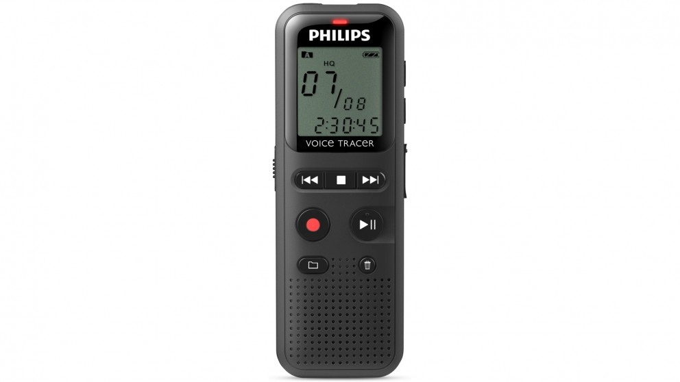 Philips 4GB Voice Tracer Audio Recorder