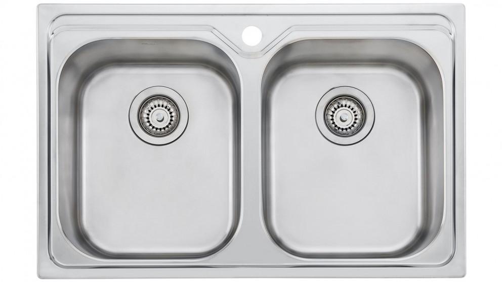 Oliveri Diaz Double Bowl Universal Sink