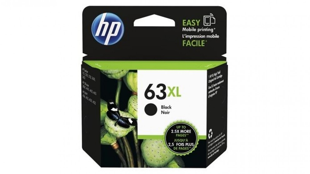 HP 63 XL Ink Cartridge - Black