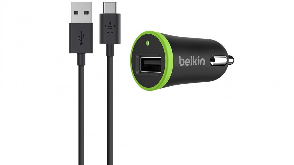 Belkin USB-C to USB-A Cable with Car Charger