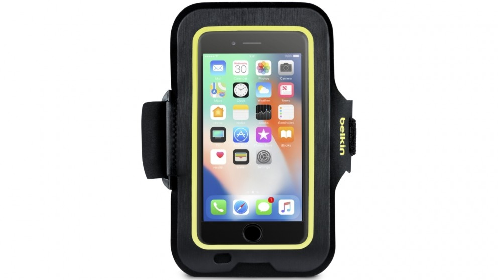 Belkin Sport-Fit Armband for iPhone 8 Plus/7 Plus/6 Plus/6S Plus