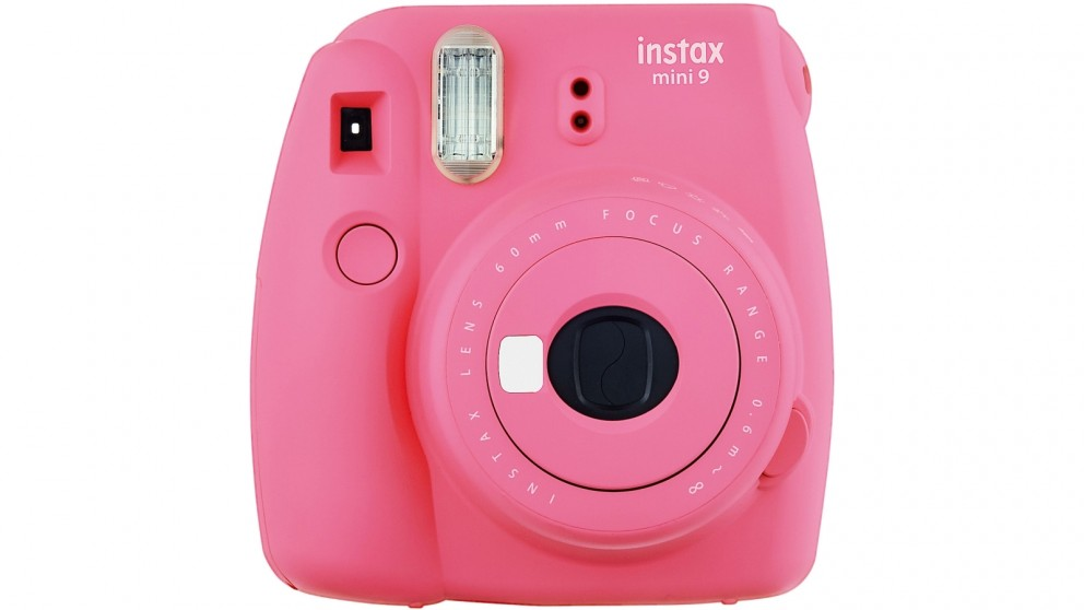 Instax Mini 9 Instant Camera - Flamingo Pink