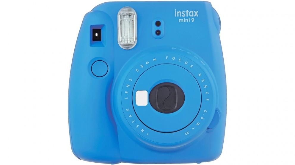 Instax Mini 9 Instant Camera - Cobalt Blue