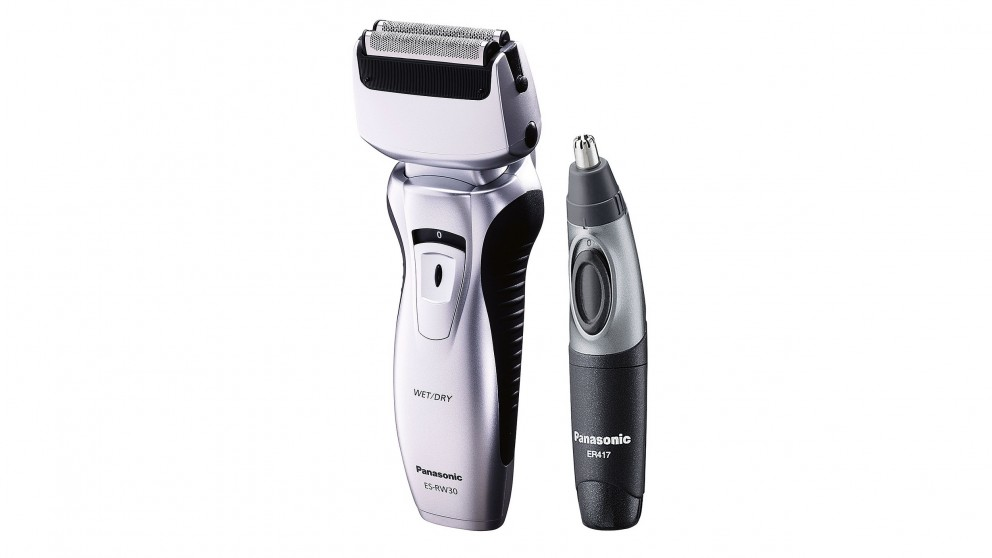 Panasonic Men's Twin-Blade Electric Shaver And Trimmer Pack