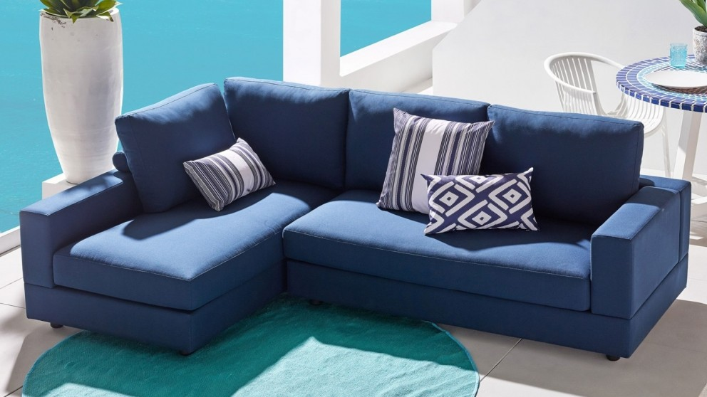 Coogee 2-Piece Outdoor Lounge - Blue