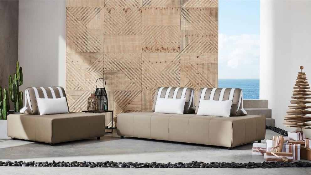 Lanikai 3-Seater Outdoor Fabric Lounge