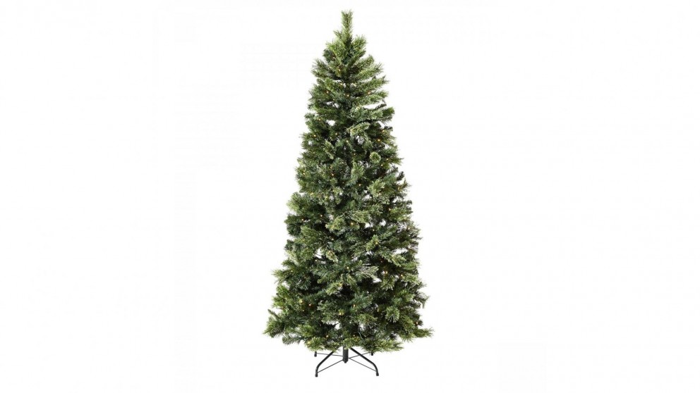 Australian Christmas Tree Pine.Cashmere Prelit Mixed Pine Tree