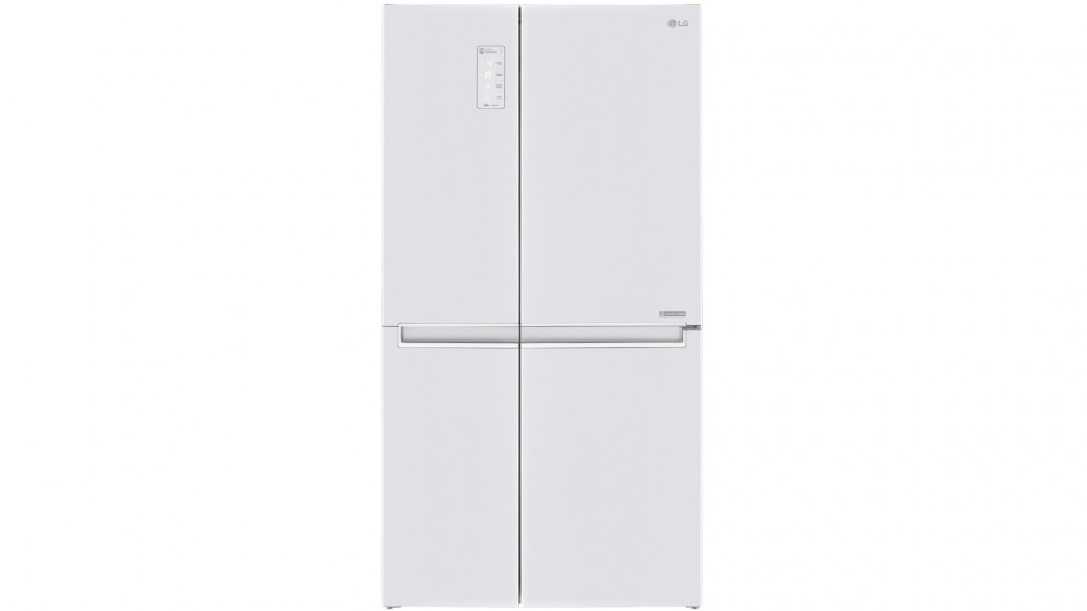 LG 687L Side by Side Fridge with Linear Compressor - White