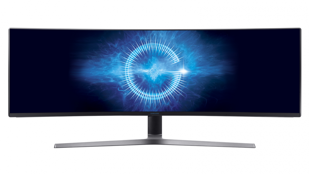 """Samsung 48.9"""" Ultra-wide Curved Gaming Monitor"""