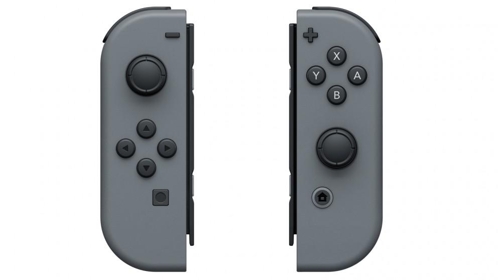 Nintendo Switch Joy Con Controller Pair - Grey