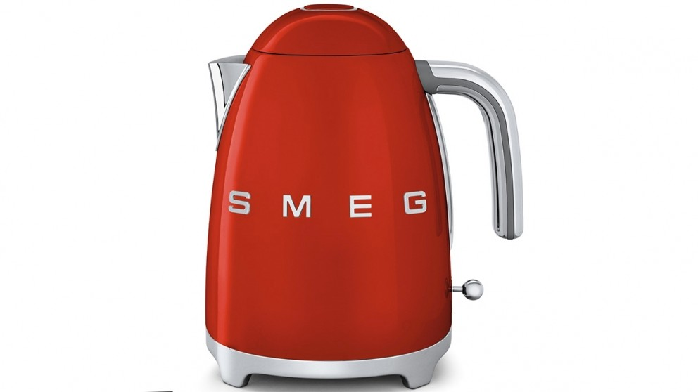 Smeg 50's Style Badged Kettle - Red