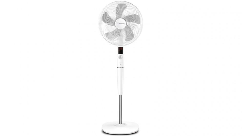 Kambrook 40cm Smarter Cooling Pedestal Fan