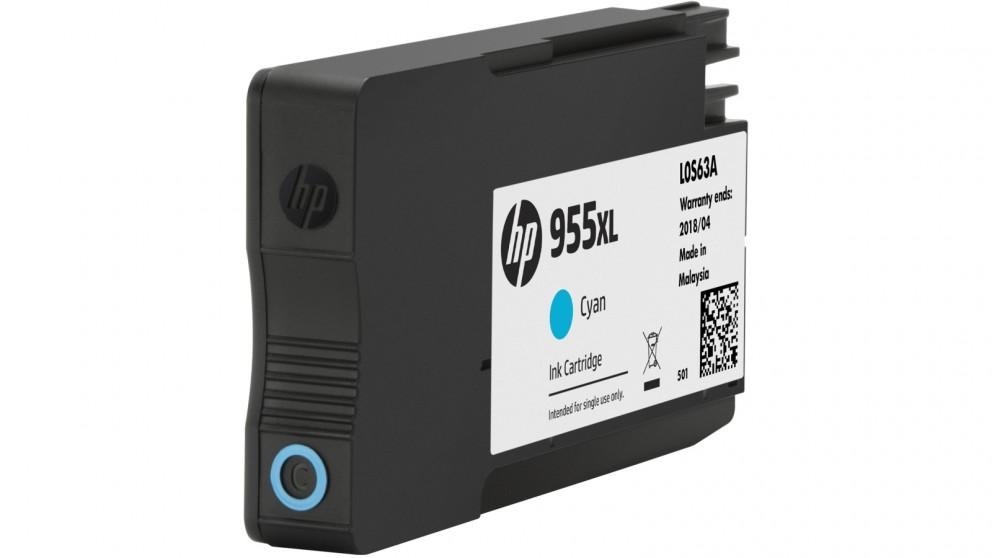 HP 955 XL High Yield Cyan Ink Cartridge