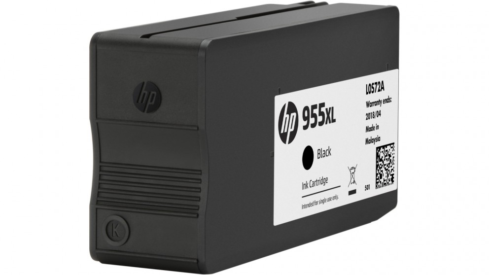 HP 955 XL High Yield Black Ink Cartridge