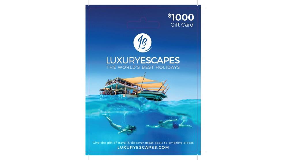 Luxury Escapes $1000 Gift Voucher