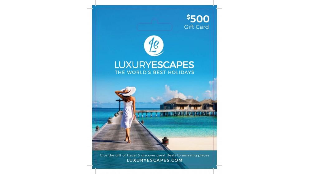 Luxury Escapes $500 Gift Voucher