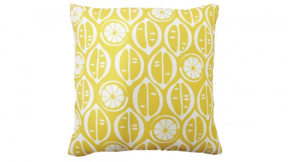 Riviera Lemons Cushion