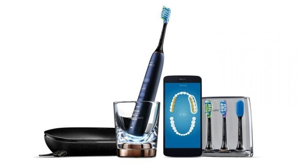 Philips Sonicare DiamondClean Connected Electric Toothbrush - Luna Blue