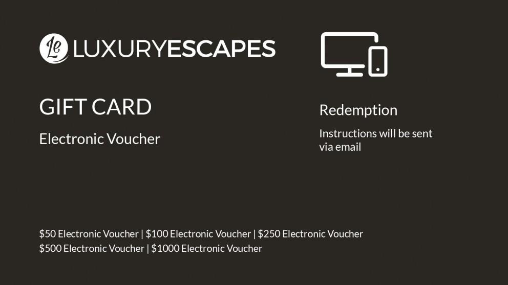 Luxury Escapes Electronic Voucher