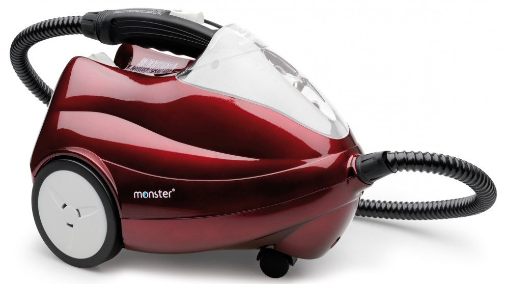 Euroflex Domestic Steam Cleaner - Red