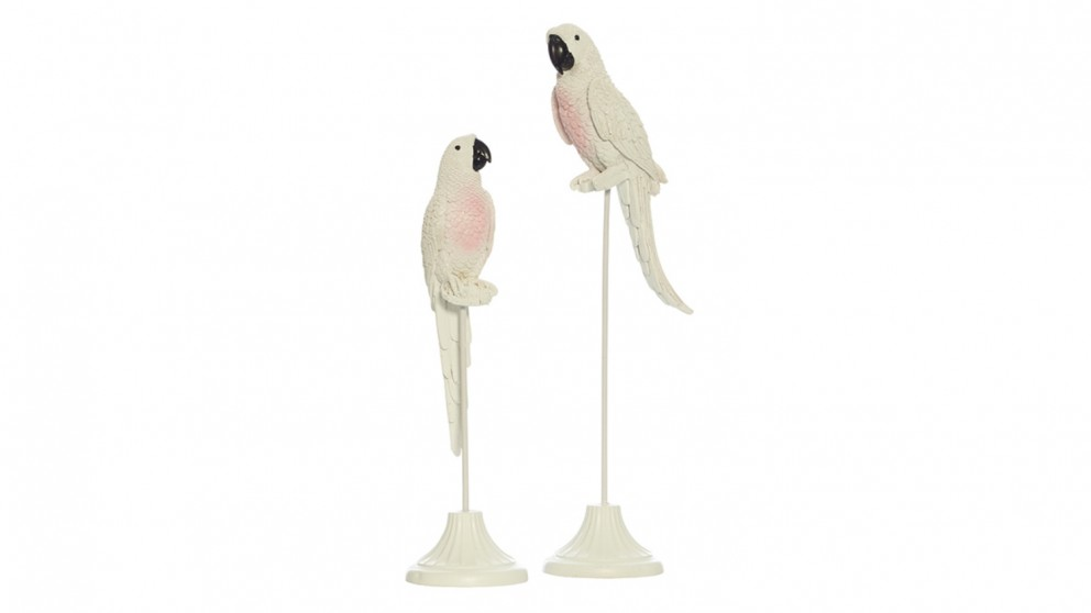 Chaffey Set of 2 Parrots on Stand