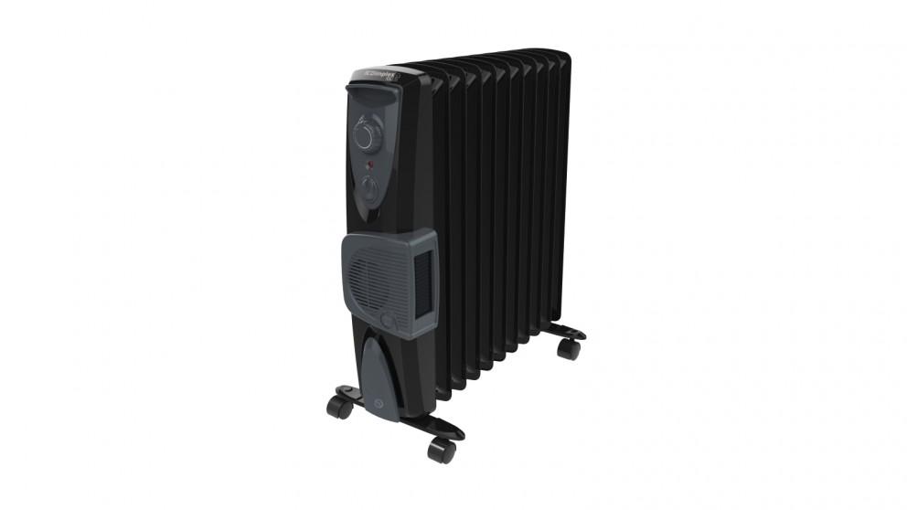 Dimplex 2.4kW Eco Column Heater with Turbo Fan - Black