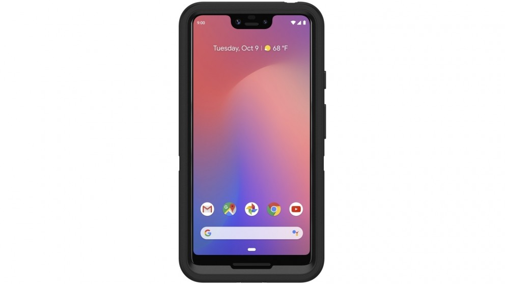 low priced 401b1 f3344 OtterBox Defender Case for Google Pixel 3 XL - Black