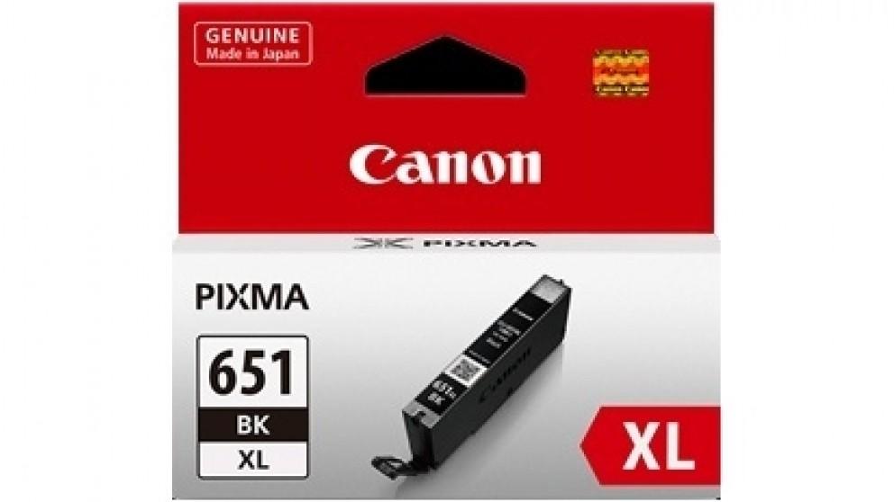 Canon Large Ink Cartridge CLI-651XLBK
