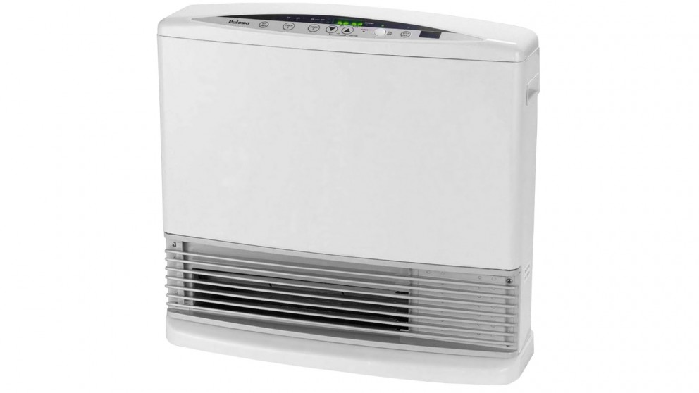 Paloma PJC-W15FR Unflued Natural Gas Portable Convector Heater - White