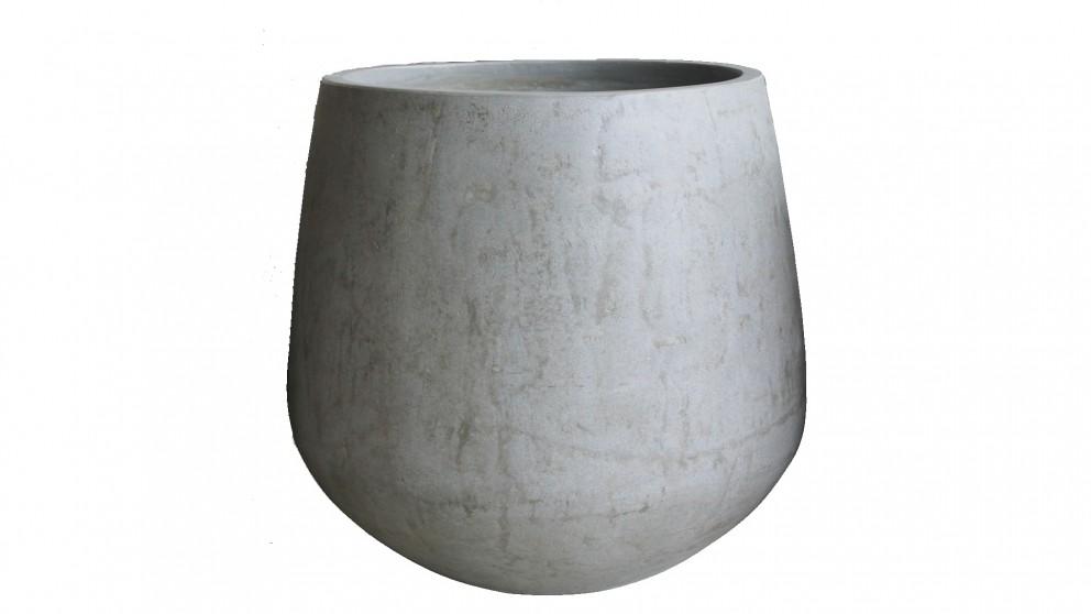 Verge Large Planter - Grey