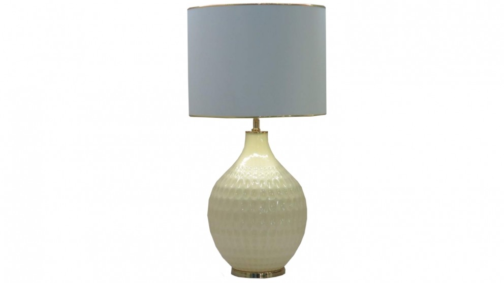 Angelique Table Lamp - Cream