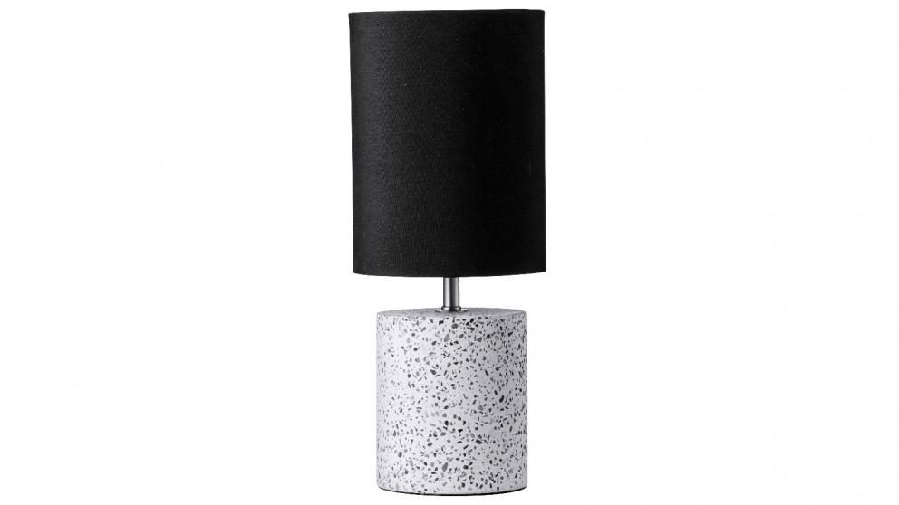 Cruz Terrazzo Table Lamp - Black
