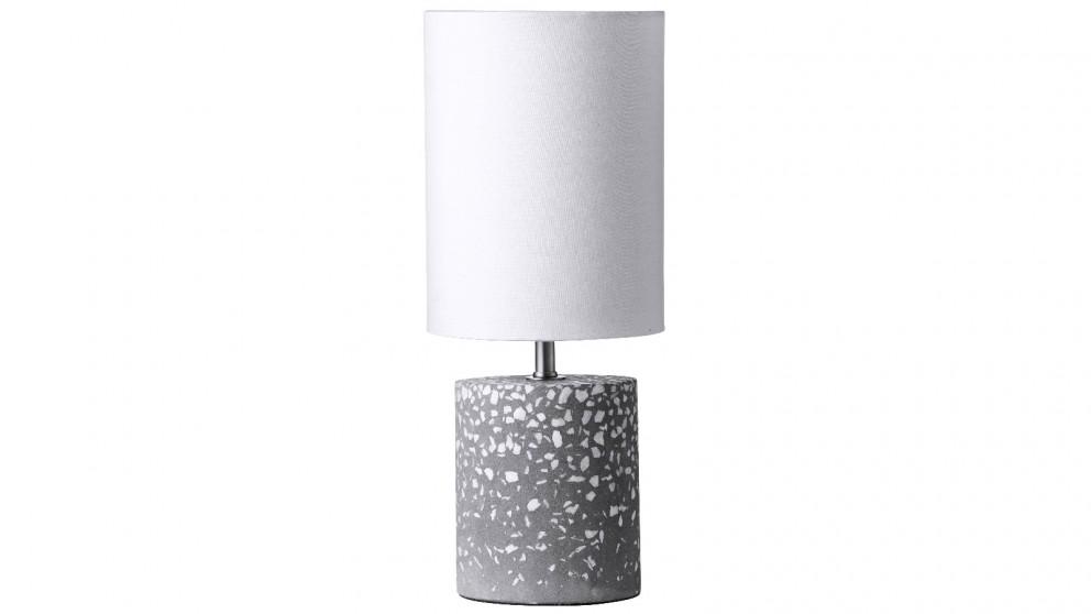 Cruz Terrazzo Table Lamp - White