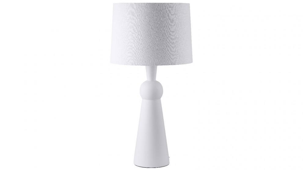 Poppy Ceramic Pilar Table Lamp