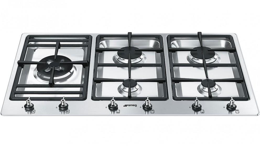 Smeg 900mm 5 Burner Gas Cooktop