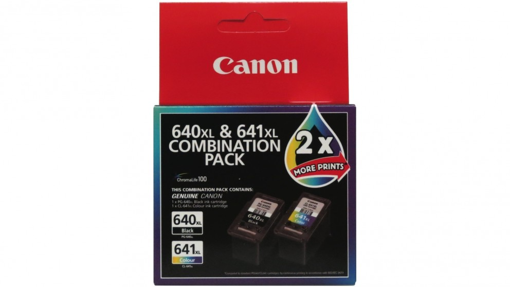 Canon Combination Pack Colour and Black Ink Cartridge - XL