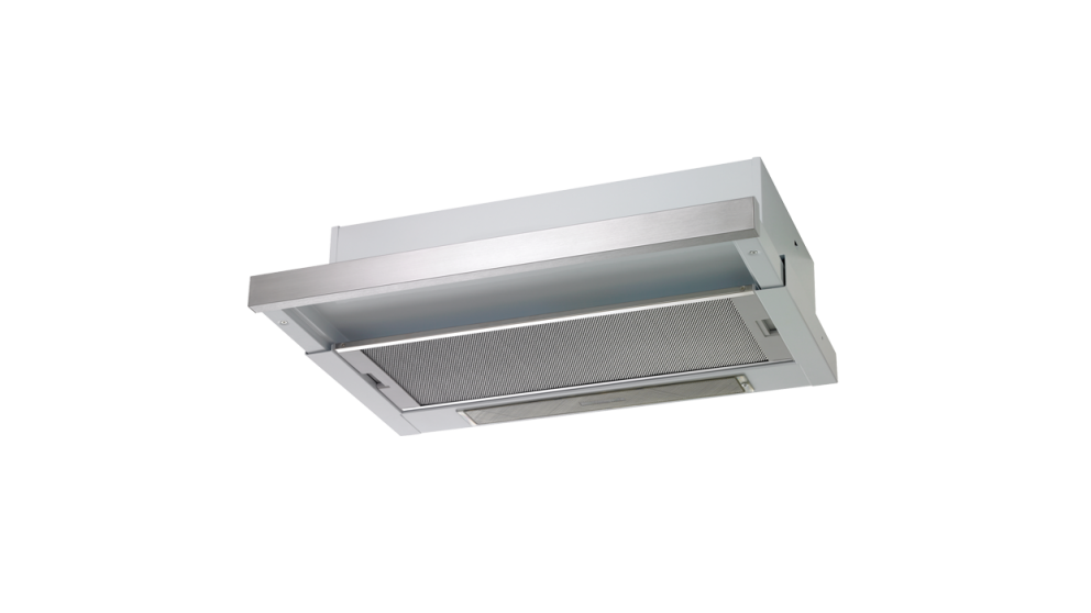 Chef Slideout Rangehood with Auto Activated Push-Pull Controls