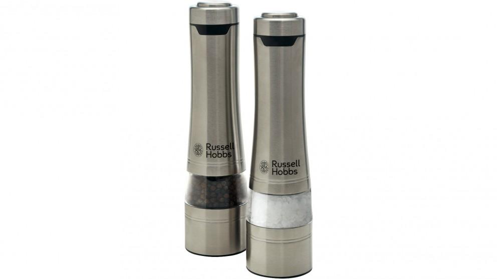 Russell Hobbs Salt and Pepper Mills - Stainless Steel