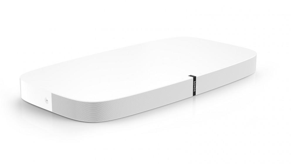 Sonos PLAYBASE Wireless Soundbase for TVs and Music - White