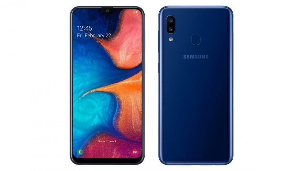 32gb - Samsung Galaxy Blue A20