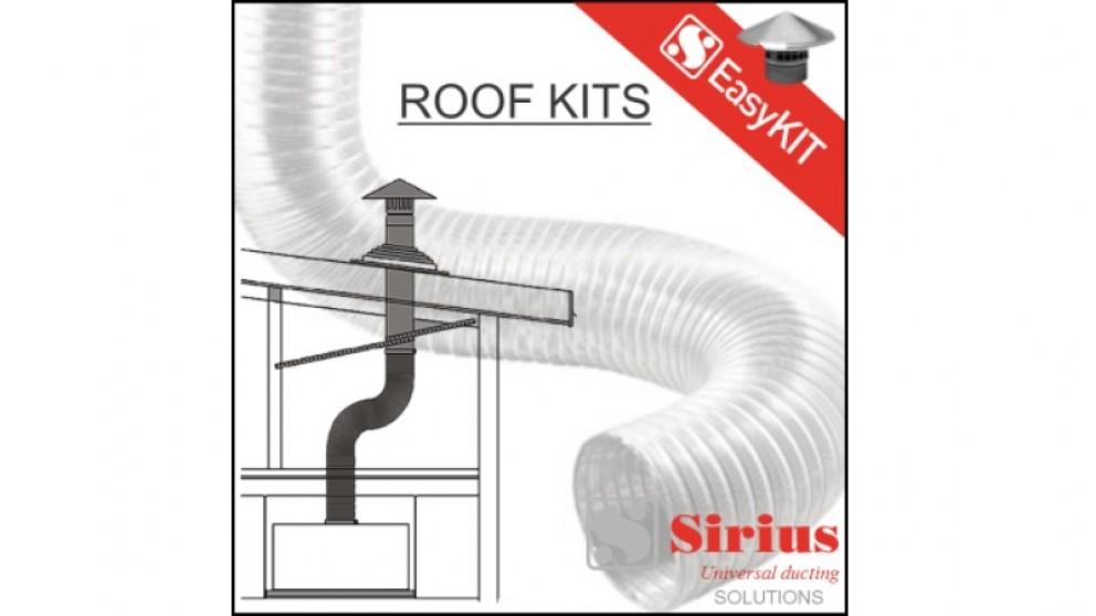 Sirius 150mm Easy Metal Roof Ducting Kit