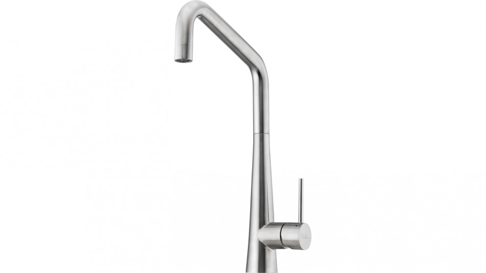 Oliveri Stainless Square Goose Neck Mixer