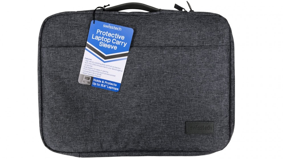 "SwissTech 15.6"" Protective Laptop Carry Sleeve - Black"