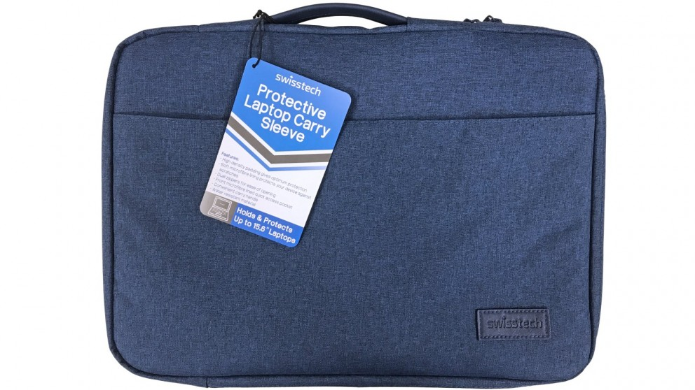 "SwissTech 15.6"" Protective Laptop Carry Sleeve - Blue"