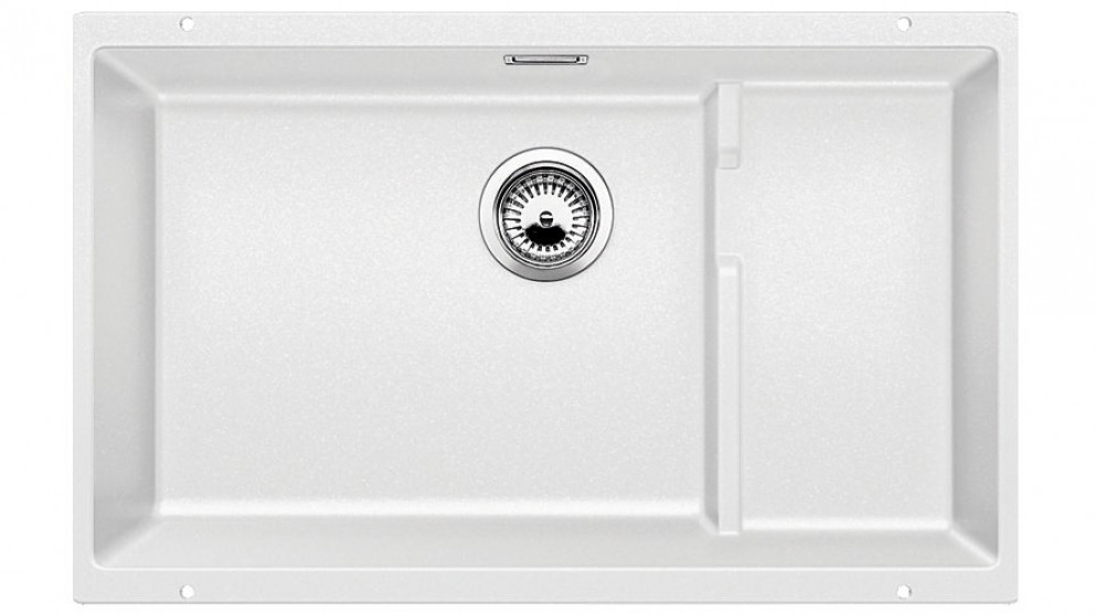 Blanco Silgranit Single Bowl Sink - White