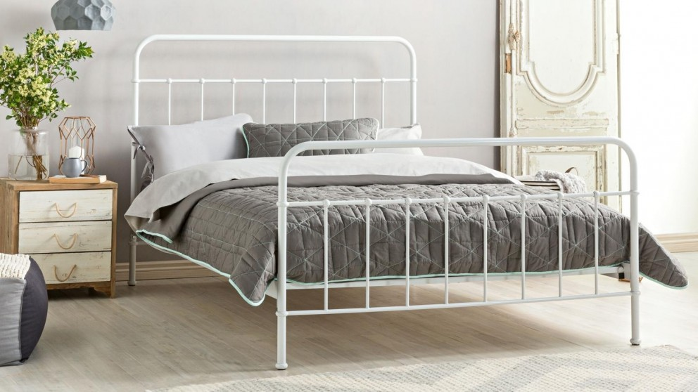 Sunday Bed Frame - Blanc White