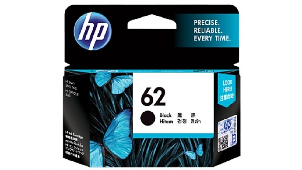 HP 62 Original Ink Cartridge - Black