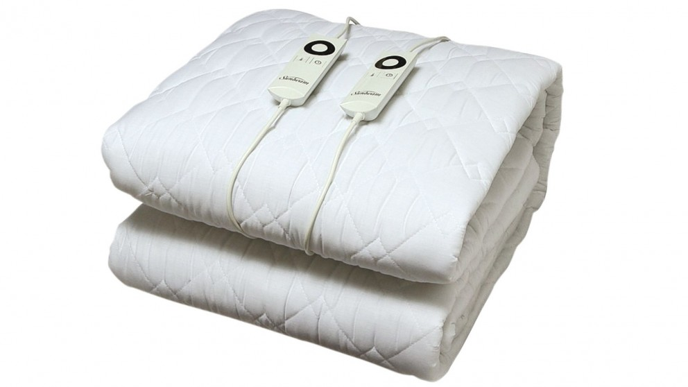 Sunbeam Sleep Perfect Quilted, Sunbeam Sleep Perfect Quilted Electric Blanket Queen Bed Review